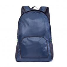 Складной рюкзак Sky 30х12х38 см Темно-синий (57170003)
