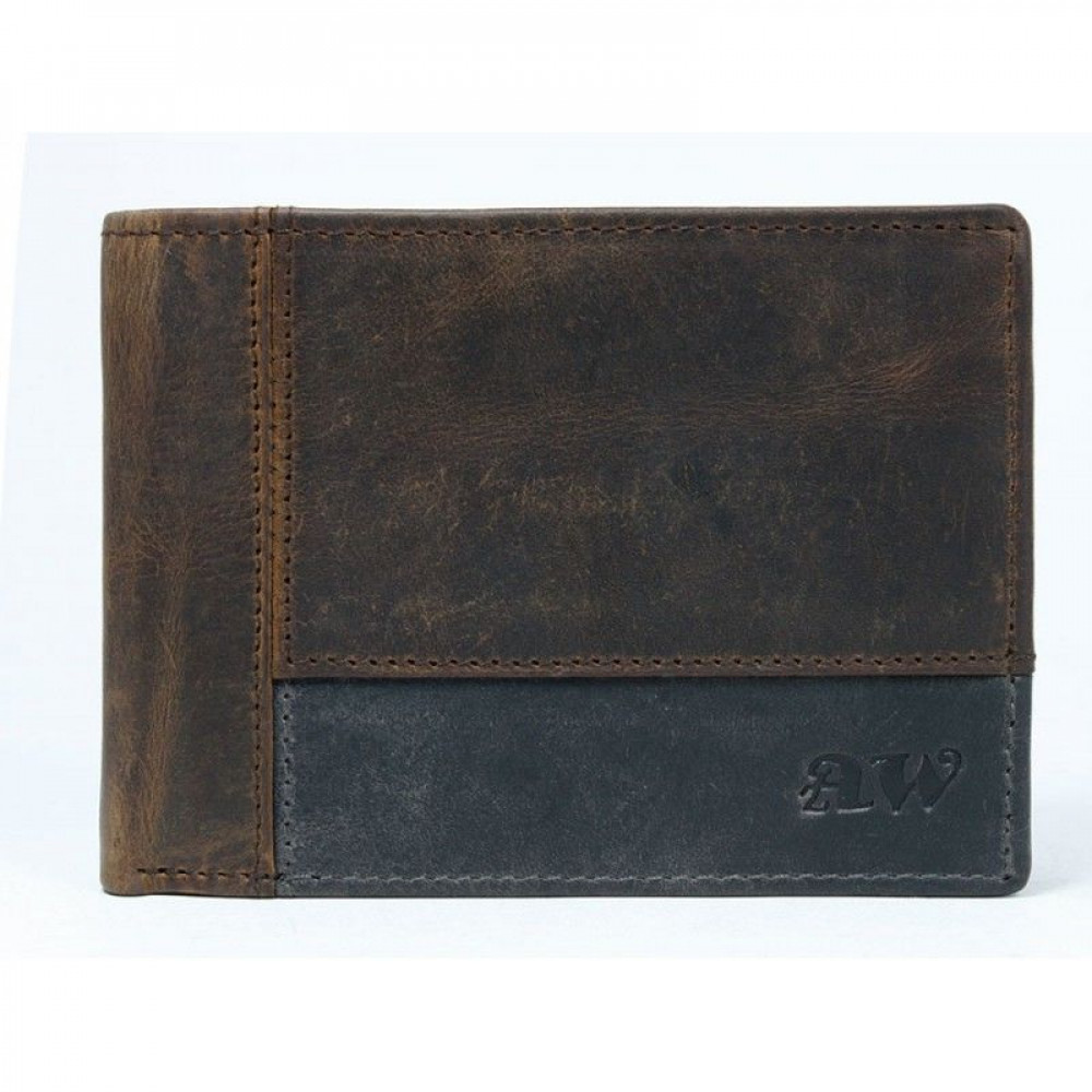 Мужской бумажник  Always Wild натуральная кожа New 2020!