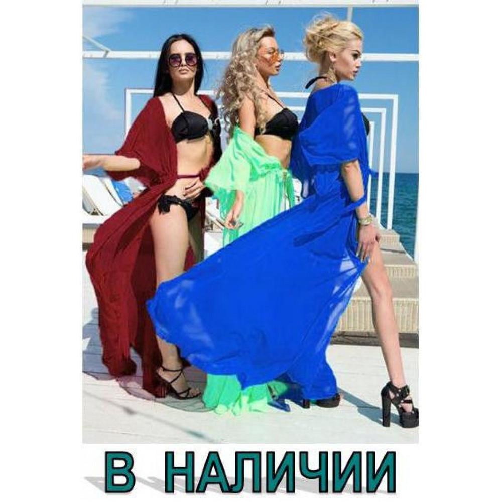 Пляжная туника в пол код: 11
