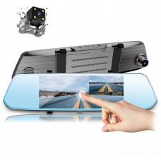 Зеркало видеорегистратор DVR L1002С Full HD + Карта памяти 32 GB