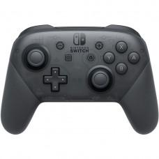 Беспроводной геймпад джойстик Nintendo Switch Pro (Чёрный)