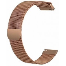 Ремешок BeWatch универсальный 20 мм стальной миланская петля milanese loop Медный (1010209)