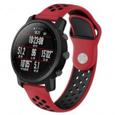 Ремешок BeWatch sport-style для Xiaomi Amazfit Stratos / Pace Red-Black (1020131.2)