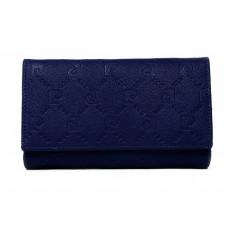 Женский кожаный кошелек Pierre Cardin темно-синий New 2020