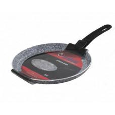 Сковорода для блинов Unique UN-5402 (22 см), с антипригарным гранитовым покрытием ( блинница)