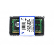 Оперативная память Kingston SODIMM DDR3-1066 4096MB PC3-8500 (KVR1066D3S7/4G)