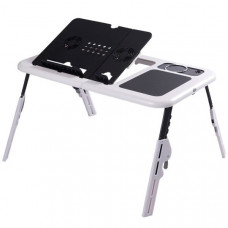 Столик для ноутбука Trend-mix E-Table Черно-белый (tdx0000435)