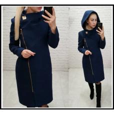 Пальто женское кашемир  Подкладка стёганка