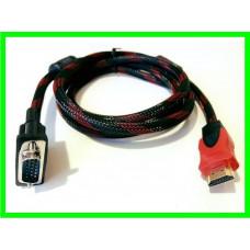 Кабель VGA - HDMI (ВидеоОбзор)