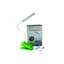 Настольная светодиодная LED лампа Yajia Ярко-зеленый (1434)