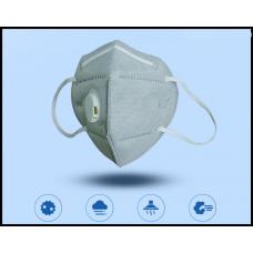 Респиратор, маска применяются медиками для защиты от вирусов стандарт FFP2 уровень защиты KN95