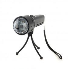 Светодиодный цветной проектор-фонарик Supretto со штативом (5241)