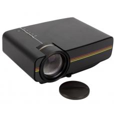 Проектор мультимедийный с динамиком LEJIADA Led Projector YG400 Black (010742)