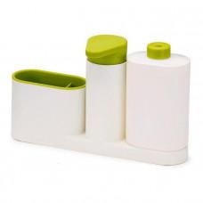 Органайзер для раковины с дозатором SINK BASE PLUS Белый (tdx0000610)