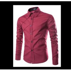 Рубашка мужская  Тренд 2021 XL код 71 красная
