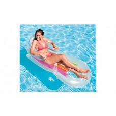 Пляжный надувной матрас-кресло Bestway