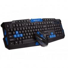 Комплект беспроводной клавиатуры с мышью Pro Gaming HK-8100 Черный (G101001154)