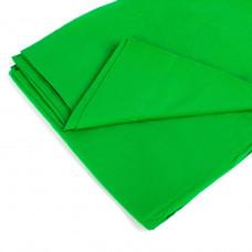 Фон тканевый для фотостудии Chromakey 5х2.2 м Зеленый (uf312)