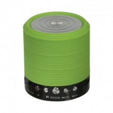 Портативная Bluetooth колонка WSTER WS-631 Green (WS-631-G)
