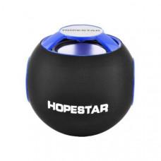 Портативная Bluetooth колонка мини динамик MP3/SD/FM Hopestar H46 Blue (111824)