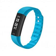 Смарт браслет ID 115 - Голубой Шагомер, уведомления о вызовах и смс, измеритель пульса.