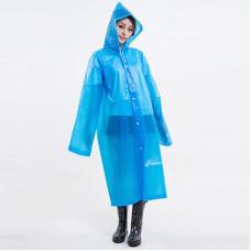 Плащ-дождевик с капюшоном Supretto 115 см Голубой (U083-0003)