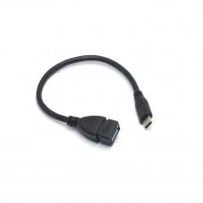 Переходник Adapter OTG USB 3.1 Type-C на USB 3.0 Черный (AC-7168)