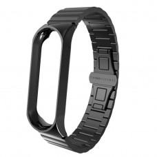 Ремешок черный Stainless Steel for Xiaomi Mi Band 3 color Black