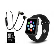 Умные часы SmartWatch GT08 +карта памяти 16GB+bluetooth наушники В ПОДАРОК!!!!