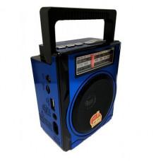 Стерео радио-магнитола Golon RX-1435 синяя с USB + SD кардридер