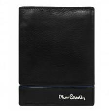 Кожаный кошелек Pierre Cardin 326-TILAK15 синяя линия