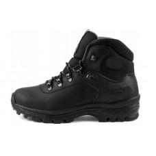 Зимние мужские треккинговые ботинки из натуральной кожи GRISPORT, черный. Р 41-46
