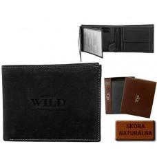Бумажник мужской Натуральная кожа ALWAYS WILD