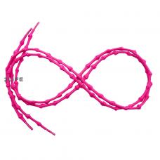 Шнурки для обуви с узелками эластичные 2Life Розовый (n-516)