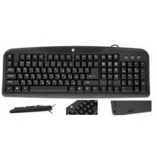 Проводная клавиатура 2E KS 101 USB Black