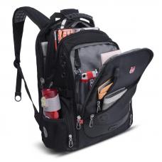 Рюкзак SwissGear Wenger с USB  Black (n-218)