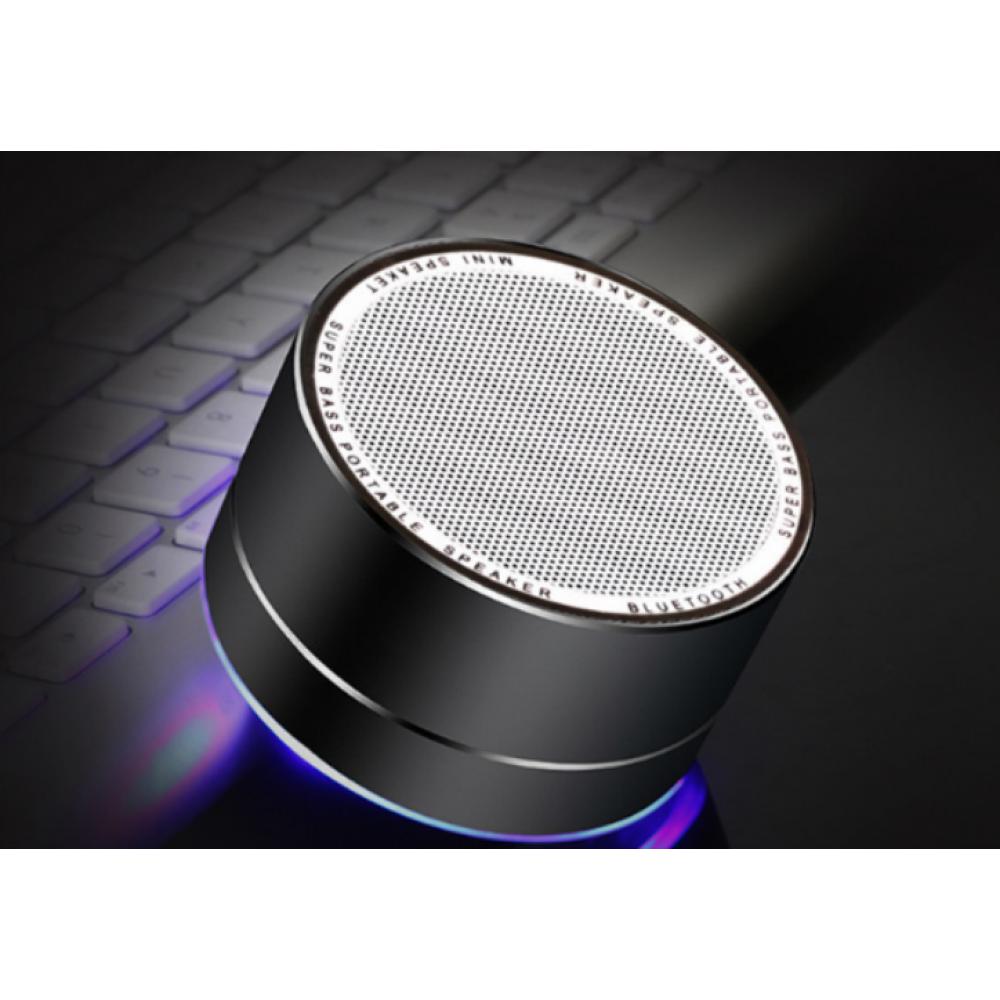 Bluetooth USB колонка A10 черный корпус металлический