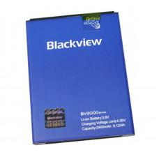 Аккумулятор для мобильного телефона черные Blackview BV2000/BV2000S (2400 mah)