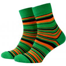 Носки с принтом женские Mushka Deep Green DEE001 36-39 Зеленый (009498)