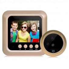 Дверной звонок CSmart-X5 камера  2,4-дюймовый экран HD