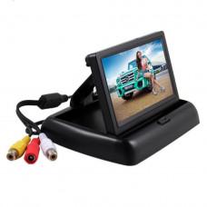 Складной дисплей для автомобиля 4,3-дюймовый LCD HD