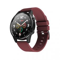 Умные часы Smartwatch F35 IP67 водонепроницаемый с мониторингом сердечного ритма IOS Android коричневые