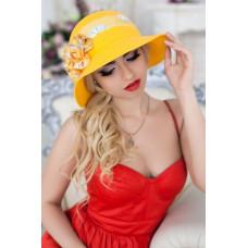 Шляпа «Сюзет» (желтый) Braxton