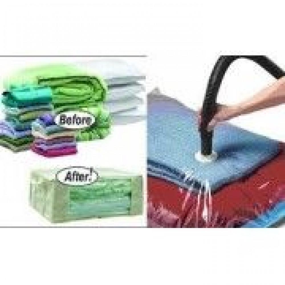 Вакуумные пакеты для хранения вещей VACUM BAG 70*100