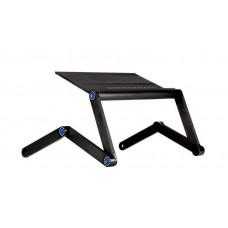 Столик-трансформер многофункциональный для ноутбука до 19 Черный (AC-5808)
