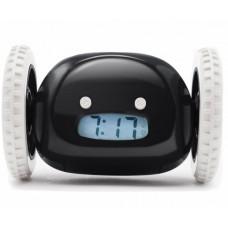 Убегающий будильник на колесиках HLV Alarm Clocky Run Black (111661)