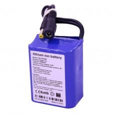 Литий ионный аккумулятор 12 В с ёмкостью 4.4 А*ч универсальный (YABO-1204400)