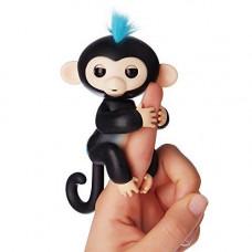Интерактивная игрушка обезьянка Fingerlings Baby Monkey черная
