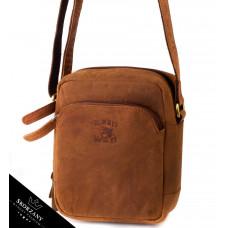 Мужская кожаная сумка бренд Always Wild Польша