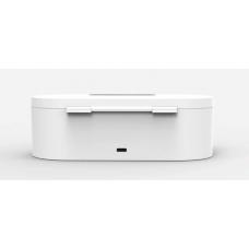 Карманный санитайзер UV для мобильного телефона и мелкой электроники Белый (hub_bioO17652)